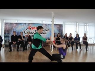 ХАСТЛ, СуперЛига Сибири 2017 ДнД Main Star, финал, Шкуропацкий Павел и Болотина