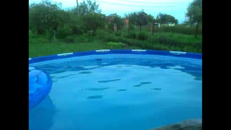 трюки в воду
