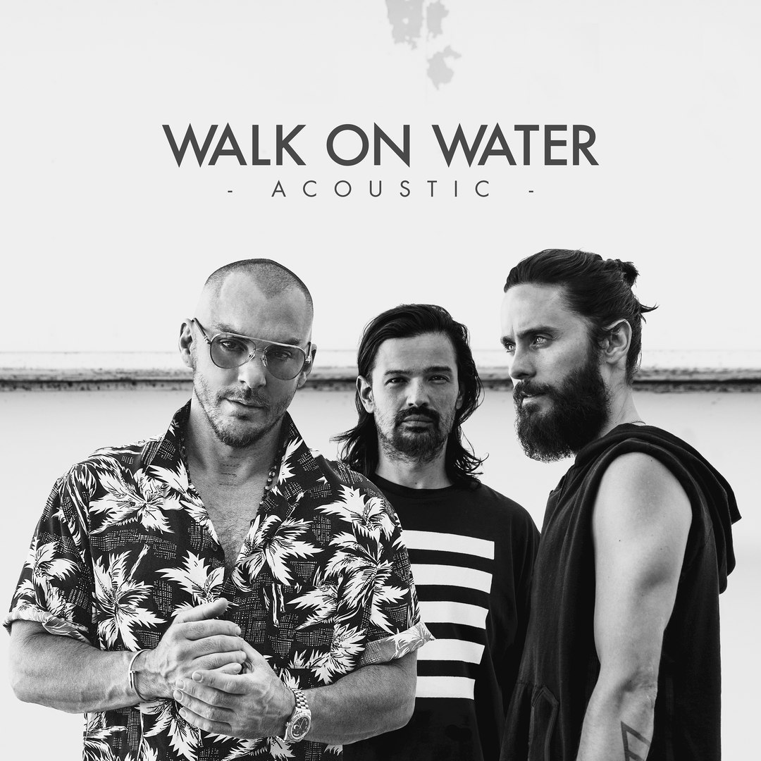 30 Seconds To Mars - Walk On Water (Acoustic) (Single)