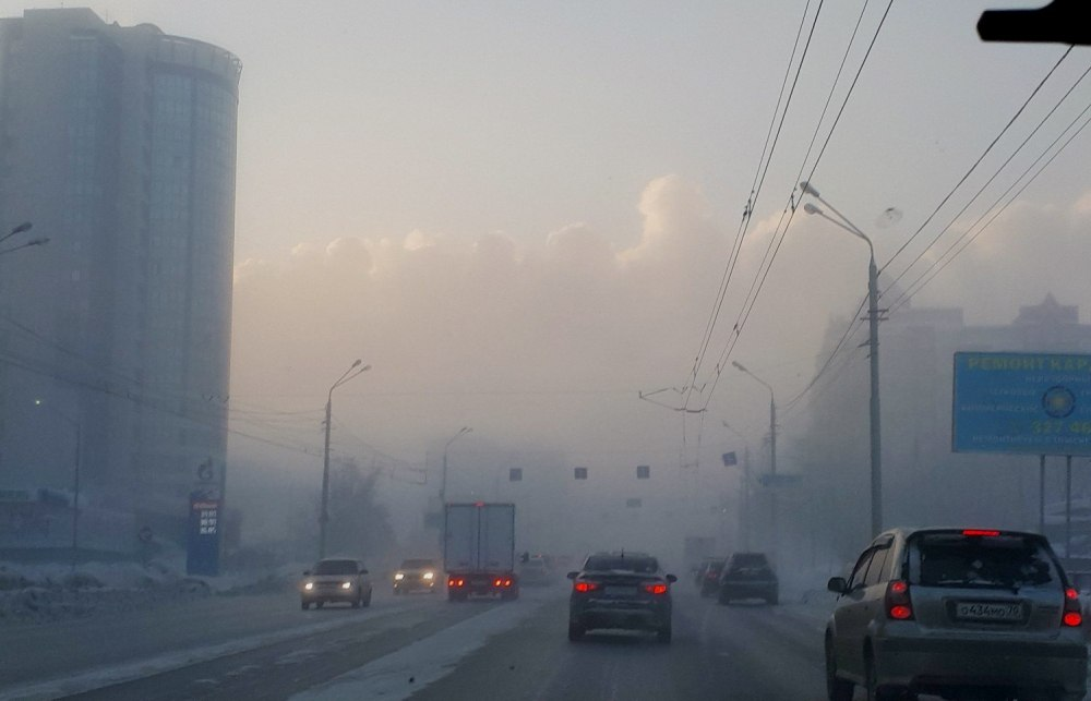 Специалисты назвали причины образования смога в Томске