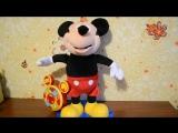 Видео обзоры игрушек - Мягкая игрушка Disney Mickey Mouse