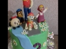 День рожденье моего Ангелочка с любимыми героями из мультфильмов