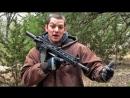 Zёбра AR-15 в компоновке булл-пап Разрушительное ранчо Перевод Zёбры