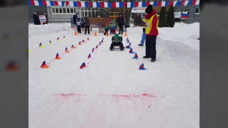 Отборочные соревнования Малых Зимних Олимпийских игр по санному спорту