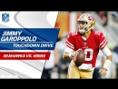 Jimmy Garoppolo Comes in the Game Tosses Perfect TD Strike! - Seahawks vs. 49ers - NFL Wk 12