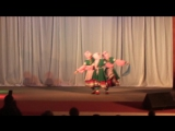 Дарья Бубликова, Анна Егорушина и Татьяна Иванова в танце