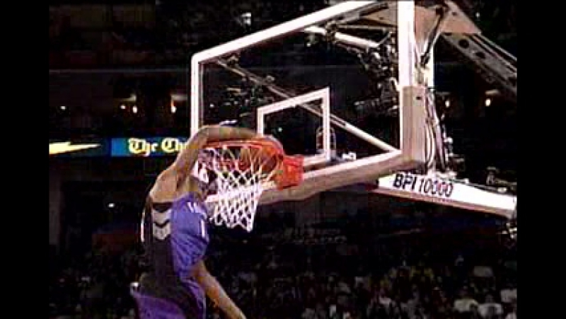 NBA Basketball - 2000 Slam Dunk Contest Highlights (1)