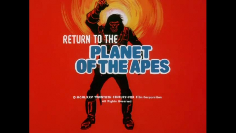 Return to the Planet of the Apes (1975) _ S01E01 _ Flames of Doom