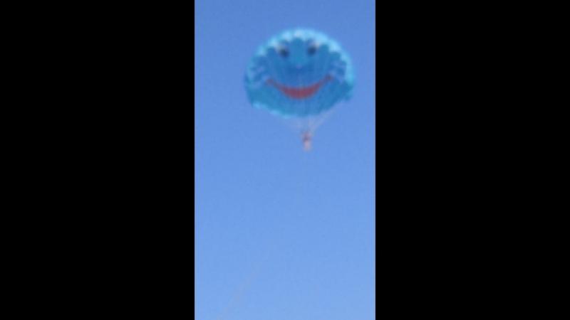 Я улетаю на большом воздушном шаре