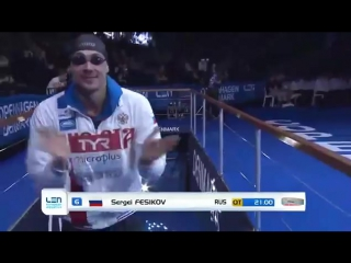 Morozov vladimir - 50 m freestyle men final