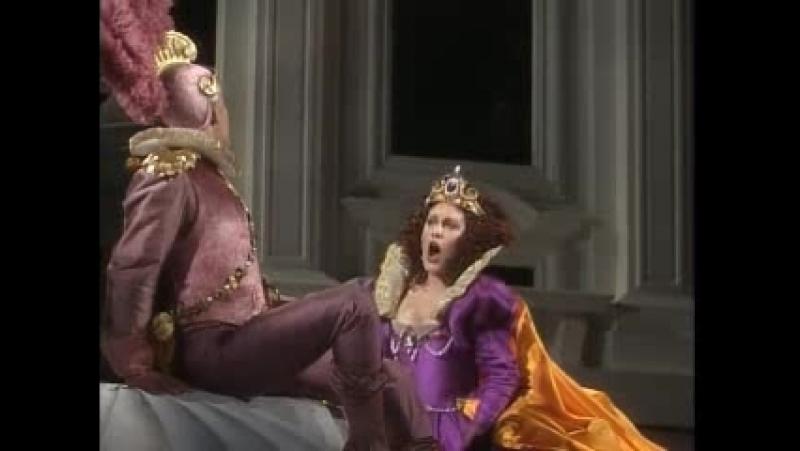 опера А.Вивальди НЕИСТОВЫЙ ОРЛАНДО, спекталь театра War Memorial Opera House в Сан-Франциско, 1990 г.