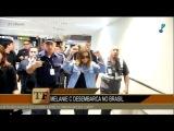 Melanie C - Arrival in Brazil (TV Fama - June 20th, 2017)