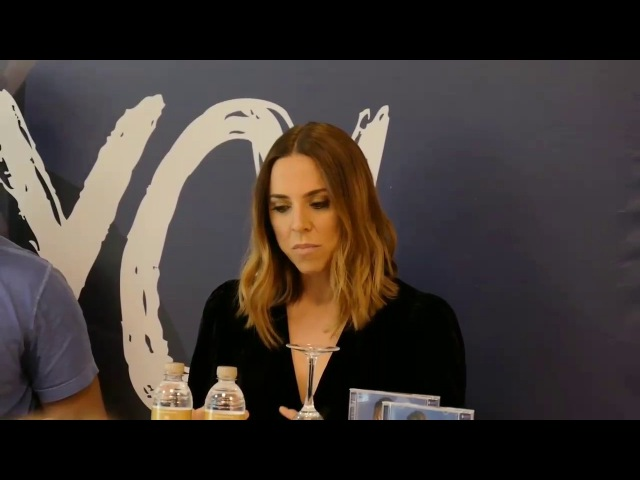 Melanie C - Coletiva de imprensa (São Paulo/Brasil)