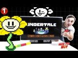 Папа РОБ и новый ВИДЕО ОБЗОР компьютерной игры #Undertale Часть 1 Видео для детей