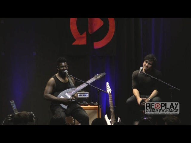 Tosin Abasi Clinic at Replay Guitar Exchange