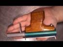КАК СДЕЛАТЬ ПНЕВМАТИЧЕСКИЙ ПИСТОЛЕТ /  HOW TO MAKE AIR GUN