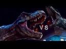 Jurassic World- Trex Vs Irex Fight