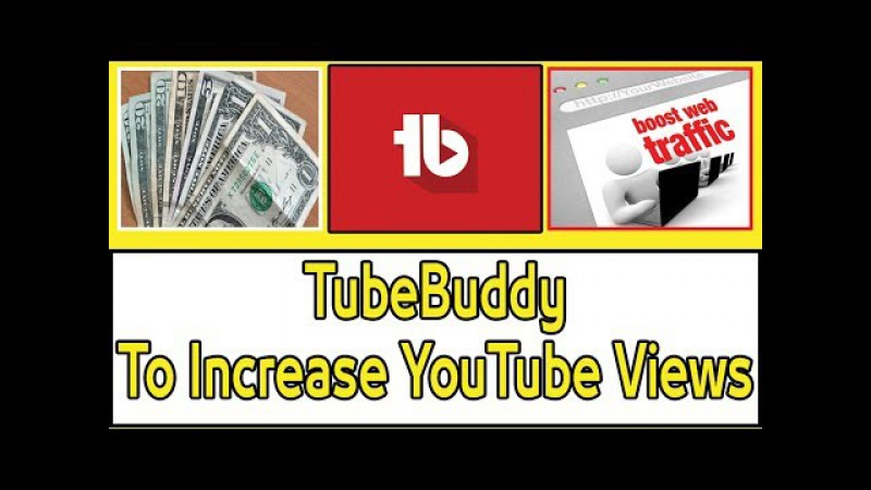 TubeBuddy to Increase YouTube earning Views Youtube Partner Earnings Booster