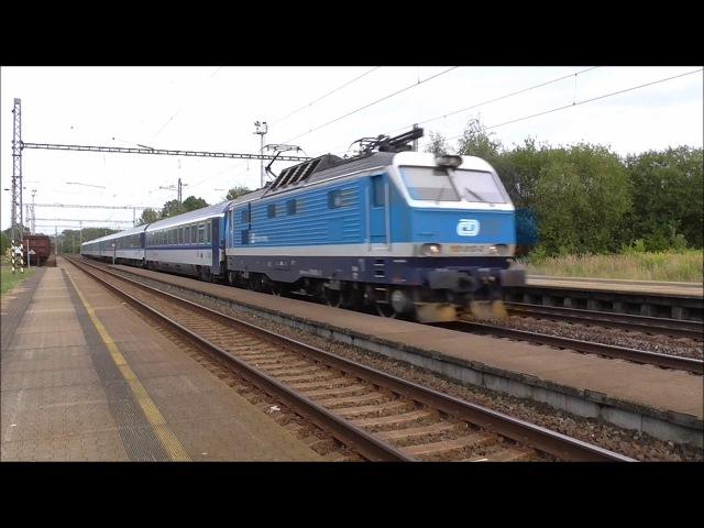 Šocení | Vlaky ve stanici Polom 10.8.2017