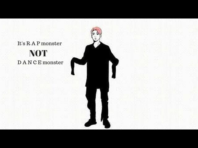 Its R A P monster not D A N C E monster