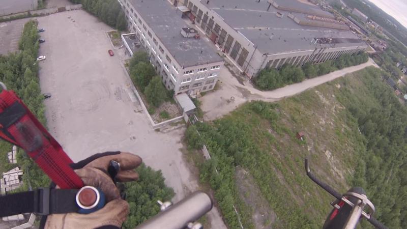 Оленегорск, завод. Август 17го