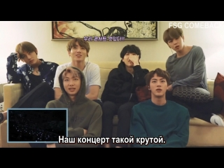 BTS - The Wings Tour in Seoul DVD (Commentary) рус.саб