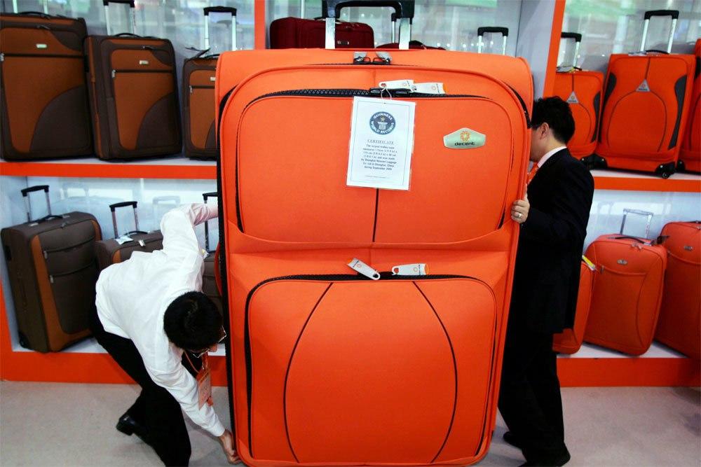 Ваши бесплатные килограммы можно суммировать в одном чемодане