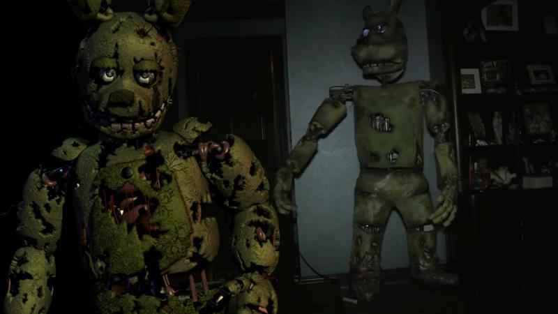 Five Nights At Freddys In Real Life (Fnaf) FNAF