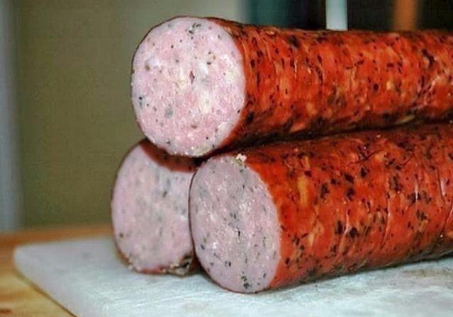 Куриная колбаска домашняя Ингредиенты: - 500 гр куриного мяса