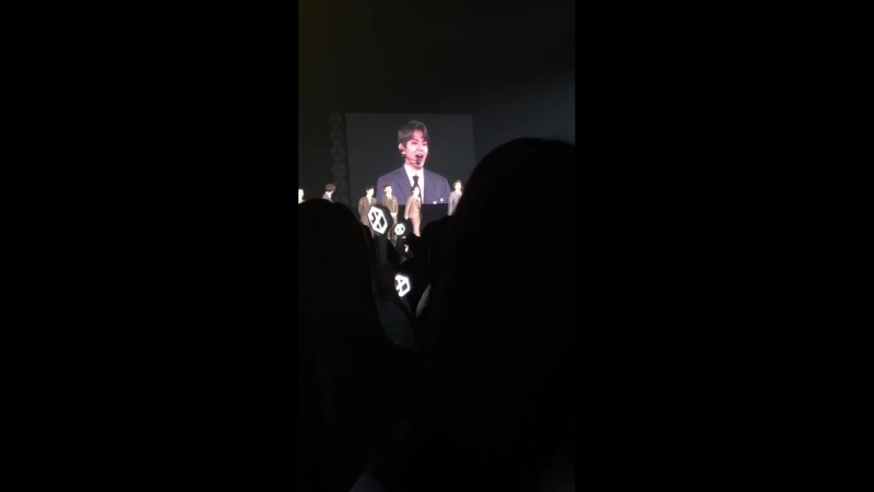 [FANCAM] 180223 EXO - Ment @ EXO PLANET 4 - The ElyXiOn in Osaka D-1