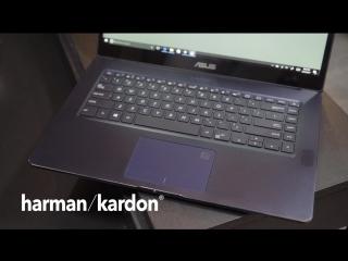 ASUS ZenBook Pro UX550 — Элегантный дизайн. Высочайшая производительность.