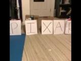 Бюджетная заставка PIXAR