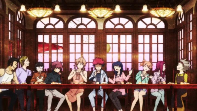 Shokugeki no Souma TV-1Creditless ED01 v4 - Spice (Tokyo Karankoron)