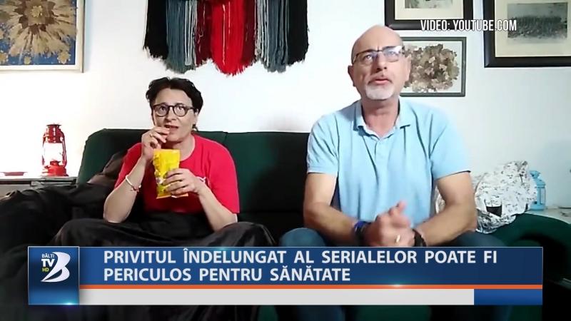 PRIVITUL ÎNDELUNGAT AL SERIALELOR POATE FI PERICULOS PENTRU SĂNĂTATE