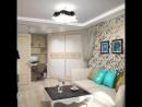 Дизайн однокомнатной квартиры в стиле арт-деко