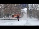 Видео работы снегоуброчного ротора HTR-201