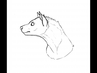 SpeedPaint || Hyena