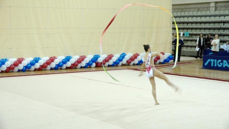 Елизавета Луговских - лента (финал)Чемпионат Приволжского округа, Самара 2018