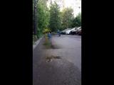 пешеход и велосипедист