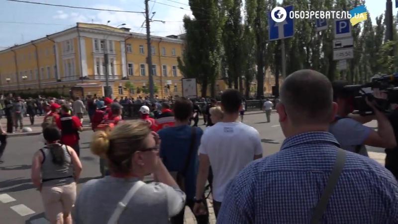Київпрайд- відеорепортаж з Маршу рівності в Києві