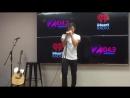 07 08 17 Jorge at american radiostation Z104 3 Baltimore