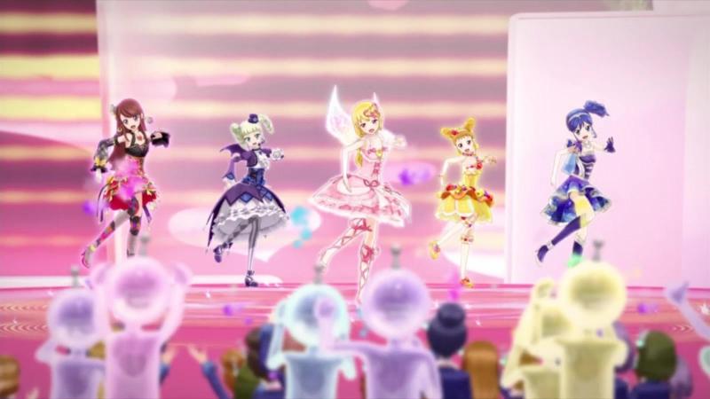 Aikatsu Episode 25 Calendar Girl Hoshimiya Ichigo Kiriya Aoi Shibuki Ran Arisugawa Otome Todo Yurika 1080p