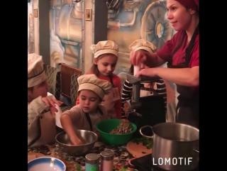 Детский Кулинарный Клуб в ресторане