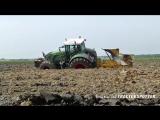 Deep ploughing - Fendt 936 vario - Van Werven diepploegen - Deep plowing