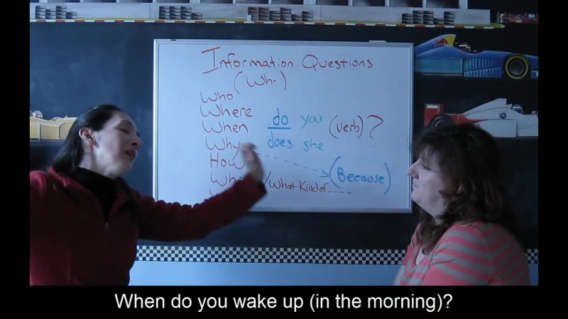 Lesson 52 - Information (Wh-) Questions - Learn English with Jennifer