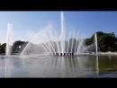 Поющий фонтан парк Горького