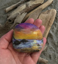 фото рисунки на камнях