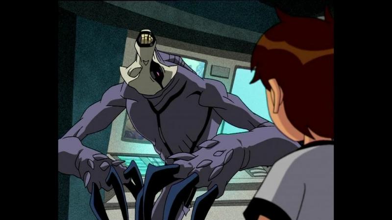 Бен 10 (2006-2007) — 3 сезон 38 серия Призрак из темноты