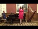 Ария Маргариты с жемчугом из оперы Ш. Гунно «Фауст». Исполняет Софья Некрасова.