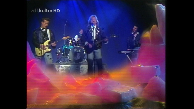 Dieter Bohlen Blue System - Love Me On The Rocks (ZDF-Hitparade 10.01.1990)